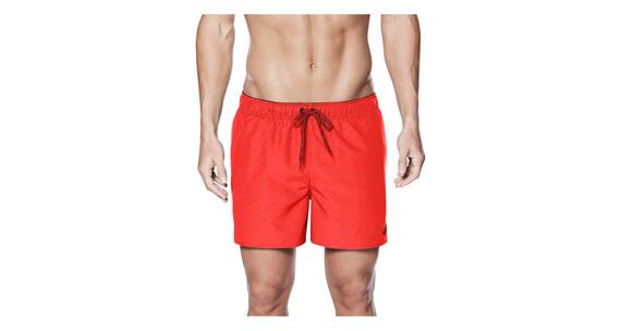 """Nike Swim Core Emboss 4"""" Volley zwembroek Heren rood"""